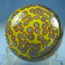 Millefiori Art Glass PaperweightItalian