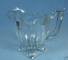 Jefferson Glass EAPG Creamer CHIPPENDALE or QUADRUPED