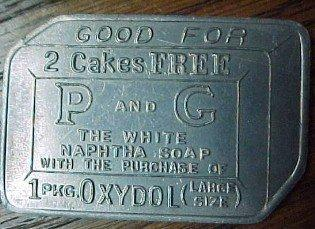 P&G IVORY CAMAY SOAP Token1.5 - Advertising
