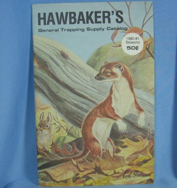 HAWBAKER'S Traping Supply Catalog - 1980 Sporting Book