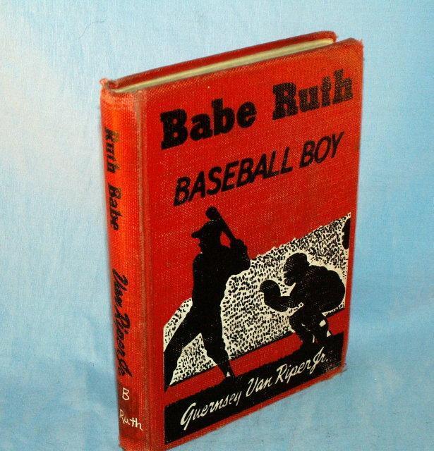BABE RUTH, BASEBALL BOY Hard Bound Book