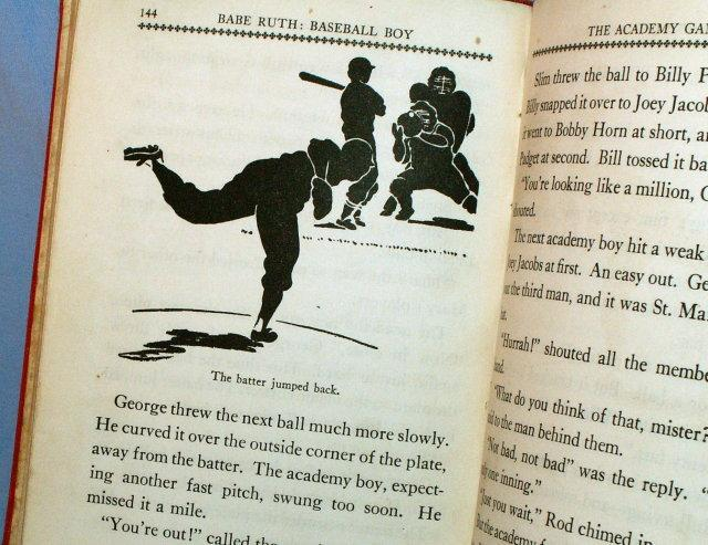 BABE RUTH, BASEBALL BOY Hard Bound Book