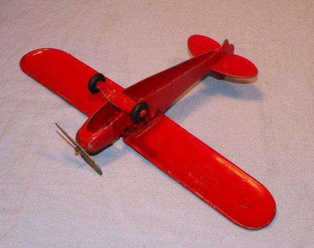 HUBLEY Cast Metal Piper Cub #433 Airplane - Toys