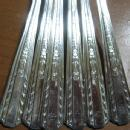 International HOLLYWOOD Silver ICED TEA SPOON 6pc Group