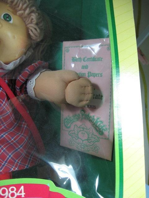 1984 Cabbage Patch Kid - Xavier Roberts with Birth Certificate - vintage toy