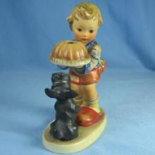 Hummel BEGGING HIS SHARE TMK 3  - 1957 porcelain limited edition CANDLE HOLDER