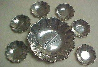 Nut Set Webster Sterling - Silver