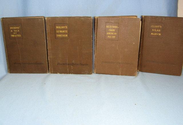Five (5) Macmillan's American and English Classics - Pocket Book Group