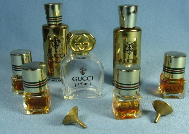 GUCCI Parfum Group   -  Vintage Miniature Perfume Bottle