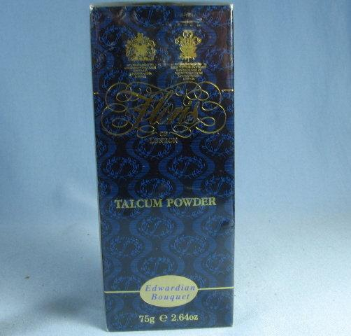 FLORIS of London EDWARDIAN BOUQUET Talcum Powder NIB