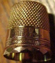 SIMONS 14K GOLD Thimble - Tools