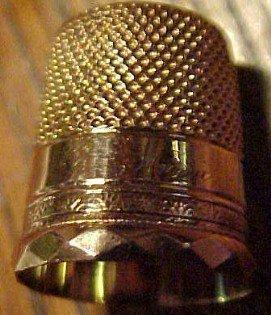 SIMONS 14K GOLD Thimble - Tools