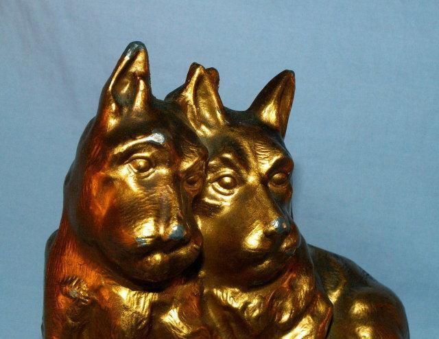Nuart SCOTTIE PAIR Gold Finished Bookends  - Metalware