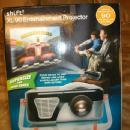 Entertainment Projector SHIFT XL-90 - Projects Video Games TV to Ceiling