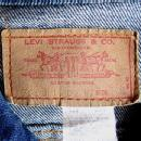LEVIS Denim JACKET - Vintage 1970's Red Label Collectible