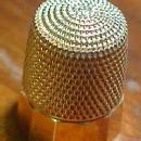 14K Gold SIMONS Thimble