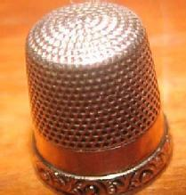 14K Gold Thimble KMD - Sewing