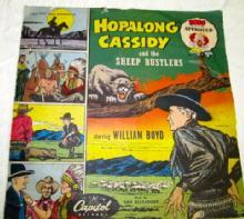 HOPALONG CASSIDY + THE SHEEP RUSTLERS  Record - Music