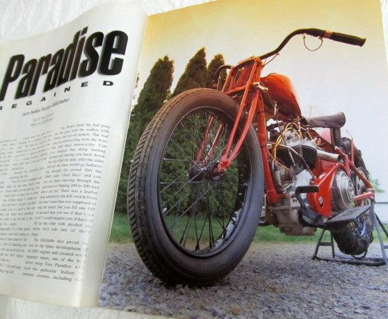 INDIAN Motorcycle Illustrated - Paper