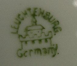 German HORSE  Image Porcelain Hanging Plate