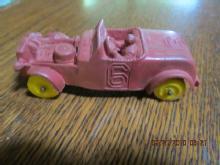 Rubber Race Car Auburn - Toys