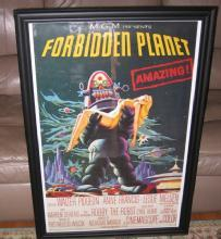 MGM Presents FORBIDDEN PLANET Movie Poster - Misc Collectible