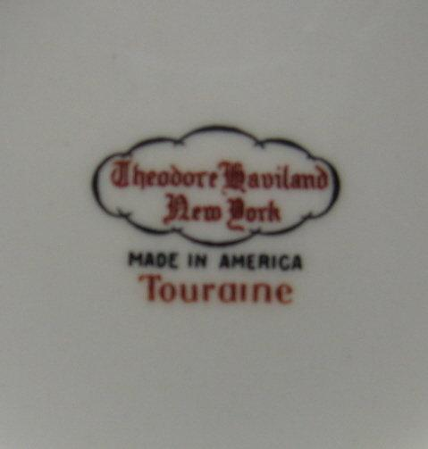Limoges Porcelain PLATTER - Huge Antique TOURAINE Pattern Serving Platter