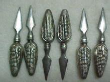 Sterling Corn Holders (6) - Silver