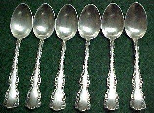 BIRKS Sterling Demotas Spoons (6) - Silver