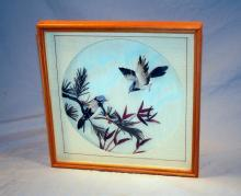 Framed FEATHER Bird Picture - Misc.