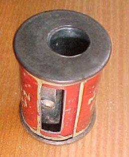 MANSION Antiseptic POLISH Pencil Sharpener Salesman Sample - Advertisement