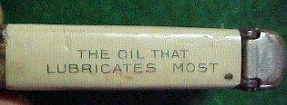 VACUUM OIL  Match Safe - Tobacciana