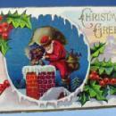 Vintage Christmas Santa Postcard