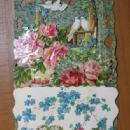 Die Cut Fold out with Doves Misc.