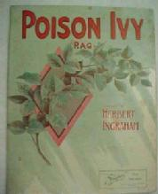 POISON IVY RAG  Sheet Music  - Paper