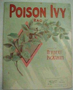 POISON IVY RAG  Sheet Music  - Paper