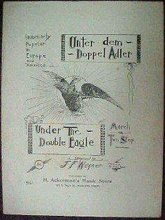 Unter dem Doppel Adler  March Two Step - Paper