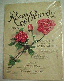 ROSES OF PICARDY Song - Paper