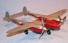 HUBLEY  Die Cast P-38 Fighter Plane - Toys
