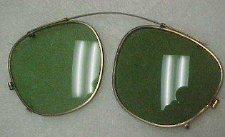 Old Round Colored Glasses - Glass