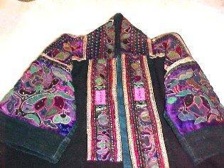 Vintage Dynasty Coat Manchu - Fabric