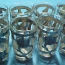 Shot Glasses Sterling Overlay 8 - Glass