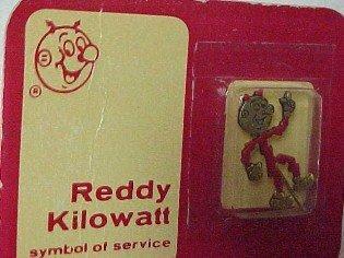 Reddy Kilowatt Pin - Advertising