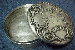 Gorham Powder Box - Silver