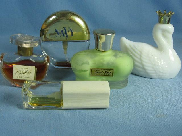 Miniature Perfume Bottle Group - Vintage Glass Vanity Bottles