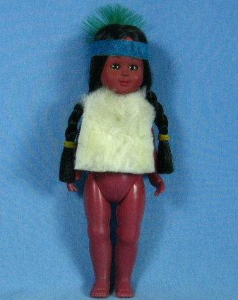 Souvenir INDIAN Papoose Doll