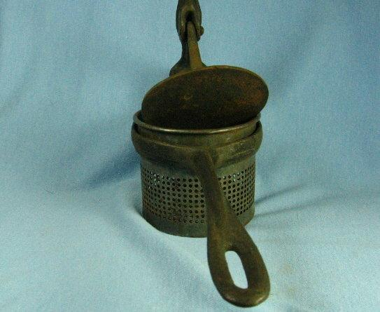 Cast Iron Handle POTATO RICER - Antique Kitchen Metalware