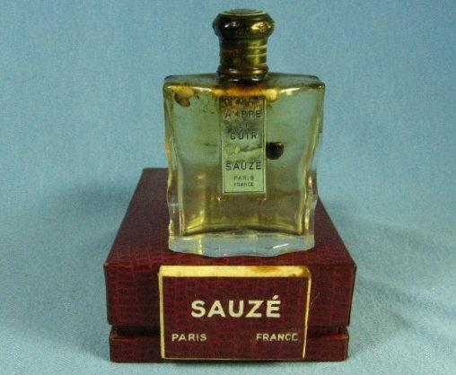 AMBRE et CUIR by Sauze Perfume - Baccarat Bottle