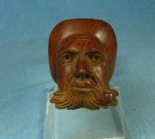 CARVED Estate Smoking Pipe - Vintage tobacciana