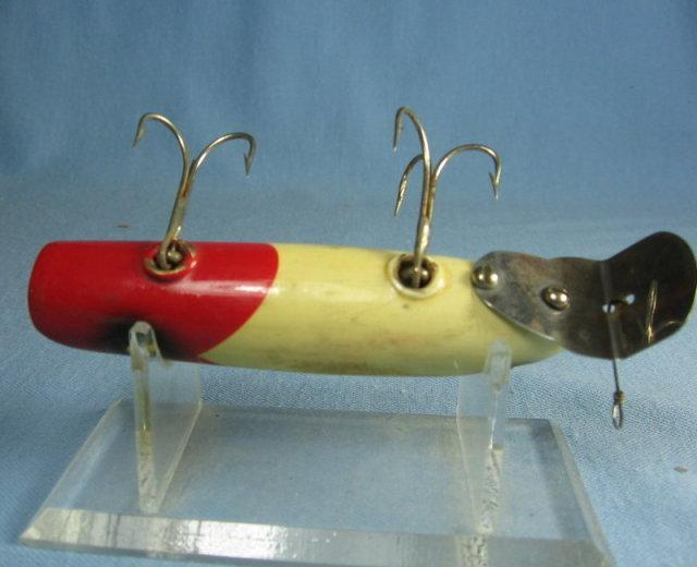 TWO ORENO Fishing Lure - Antique Wooden Sporting Bait